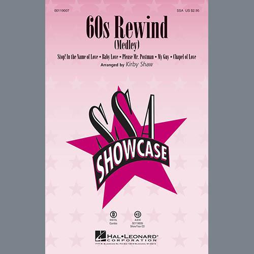Kirby Shaw, 60s Rewind - Bass, Choir Instrumental Pak