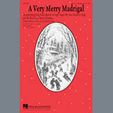 Download or print Kirby Shaw A Very Merry Madrigal Sheet Music Printable PDF 5-page score for Winter / arranged TTBB Choir SKU: 177453.