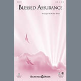 Download Kirby Shaw 'Blessed Assurance - Bb Trumpet 1' Printable PDF 1-page score for Sacred / arranged Choir Instrumental Pak SKU: 321744.