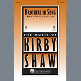 Download Kirby Shaw 'Brothers In Song - Guitar' Printable PDF 2-page score for Inspirational / arranged Choir Instrumental Pak SKU: 329990.