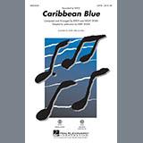 Download Kirby Shaw 'Caribbean Blue - Guitar' Printable PDF 2-page score for New Age / arranged Choir Instrumental Pak SKU: 306011.