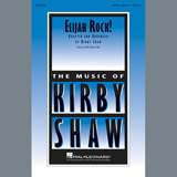 Download or print Kirby Shaw Elijah Rock! Sheet Music Printable PDF 7-page score for A Cappella / arranged SATB Choir SKU: 411053.