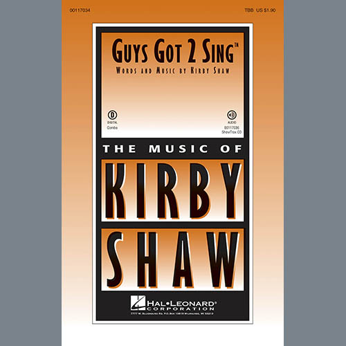 Easily Download Kirby Shaw Printable PDF piano music notes, guitar tabs for TBB Choir. Transpose or transcribe this score in no time - Learn how to play song progression.