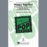 Download Kirby Shaw 'Happy Together' Printable PDF 10-page score for Pop / arranged 2-Part Choir SKU: 290147.