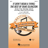 Download Kirby Shaw 'It Don't Mean A Thing: The Best Of Duke Ellington (Medley) - Guitar' Printable PDF 7-page score for Jazz / arranged Choir Instrumental Pak SKU: 266561.