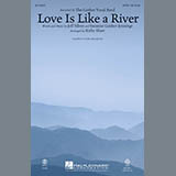 Download Kirby Shaw 'Love Is Like a River - Bb Trumpet 2' Printable PDF 2-page score for Concert / arranged Choir Instrumental Pak SKU: 314725.