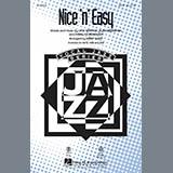 Download Kirby Shaw 'Nice 'n' Easy - Bass' Printable PDF 2-page score for Jazz / arranged Choir Instrumental Pak SKU: 299423.