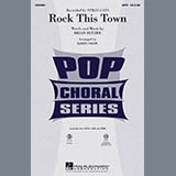 Download Kirby Shaw 'Rock This Town' Printable PDF 10-page score for Pop / arranged TBB Choir SKU: 284183.