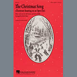 Download Kirby Shaw 'The Christmas Song (Chestnuts Roasting On An Open Fire)' Printable PDF 5-page score for Christmas / arranged SSAA Choir SKU: 289543.
