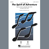 Download or print Kirby Shaw The Spirit Of Adventure Sheet Music Printable PDF 10-page score for Disney / arranged 2-Part Choir SKU: 289541.
