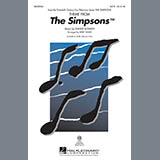 Download Kirby Shaw 'Theme From The Simpsons' Printable PDF 7-page score for Pop / arranged 2-Part Choir SKU: 290177.