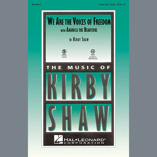 Easily Download Kirby Shaw Printable PDF piano music notes, guitar tabs for Choir Instrumental Pak. Transpose or transcribe this score in no time - Learn how to play song progression.