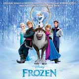 Download or print Kristen Bell & Idina Menzel For The First Time In Forever (from Disney's Frozen) Sheet Music Printable PDF 3-page score for Children / arranged Big Note Piano SKU: 154959.