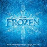 Download or print Kristen Bell, Agatha Lee Monn & Katie Lopez Do You Want To Build A Snowman? (from Disney's Frozen) Sheet Music Printable PDF 5-page score for Children / arranged Big Note Piano SKU: 177056.