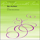 Download or print Kristen Shiner-McGuire Re-Action - Percussion 1 Sheet Music Printable PDF 2-page score for Concert / arranged Percussion Ensemble SKU: 336824.