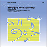 Download or print Kristen Shiner McGuire & David McGuire Baroque For Marimba Sheet Music Printable PDF 24-page score for Instructional / arranged Percussion Solo SKU: 125046.