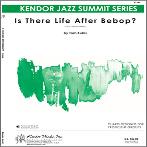 Easily Download Kubis Printable PDF piano music notes, guitar tabs for Jazz Ensemble. Transpose or transcribe this score in no time - Learn how to play song progression.