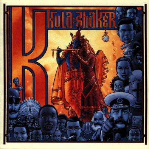 Kula Shaker, Sleeping Jiva, Piano, Vocal & Guitar (Right-Hand Melody)