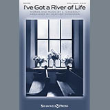 Download or print L. Casebolt I've Got A River Of Life (arr. Heather Sorenson) Sheet Music Printable PDF 14-page score for A Cappella / arranged SATB Choir SKU: 431333.