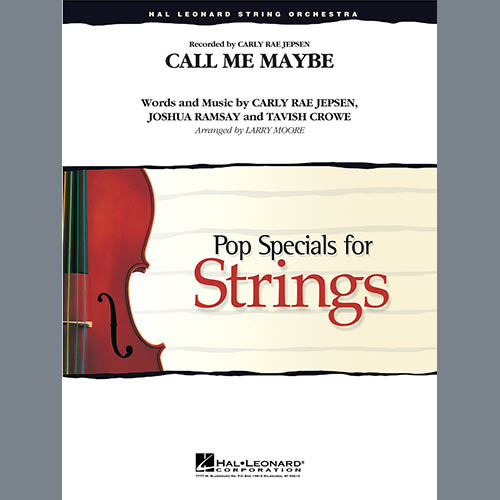 Larry Moore, Call Me Maybe - Piano, Orchestra