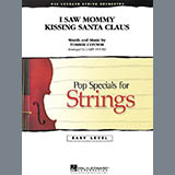 Download Larry Moore 'I Saw Mommy Kissing Santa Claus - Violin 3 (Viola Treble Clef)' Printable PDF 1-page score for Christmas / arranged Orchestra SKU: 271987.