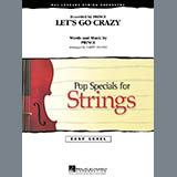 Download Larry Moore 'Let's Go Crazy - Cello' Printable PDF 1-page score for Pop / arranged Orchestra SKU: 272007.