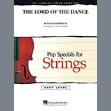 Download Larry Moore 'Lord Of The Dance - Violin 3 (Viola T.C.)' Printable PDF 1-page score for Film/TV / arranged Orchestra SKU: 286787.