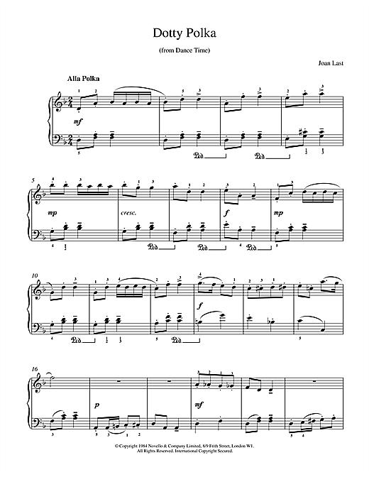 Last Dotty Polka sheet music notes and chords