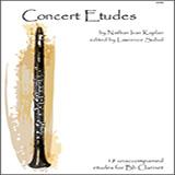 Download Lawrence Sobol 'Concert Etudes' Printable PDF 24-page score for Concert / arranged Woodwind Solo SKU: 125008.
