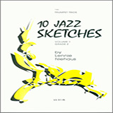 Download or print Lennie Niehaus 10 Jazz Sketches, Volume 1 Sheet Music Printable PDF 23-page score for Jazz / arranged Woodwind Ensemble SKU: 371212.