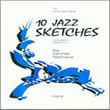 Download Lennie Niehaus '10 Jazz Sketches, Volume 2 (altos)' Printable PDF 21-page score for Jazz / arranged Woodwind Ensemble SKU: 339292.