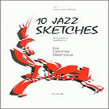 Download Lennie Niehaus '10 Jazz Sketches, Volume 3 (altos)' Printable PDF 23-page score for Jazz / arranged Woodwind Ensemble SKU: 404863.