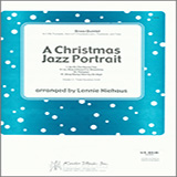 Download Lennie Niehaus 'A Christmas Jazz Portrait - 1st Bb Trumpet' Printable PDF 8-page score for Christmas / arranged Brass Ensemble SKU: 342995.