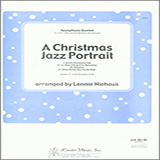 Download Lennie Niehaus 'A Christmas Jazz Portrait - Full Score' Printable PDF 25-page score for Christmas / arranged Brass Ensemble SKU: 342994.