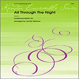 Download Lennie Niehaus 'All Through the Night - 1st Eb Alto Saxophone' Printable PDF 2-page score for Jazz / arranged Woodwind Ensemble SKU: 339261.