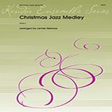 Download or print Lennie Niehaus Christmas Jazz Medley - Full Score Sheet Music Printable PDF 5-page score for Christmas / arranged Brass Ensemble SKU: 374088.