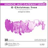 Download or print Les Sabina O Christmas Tree - Eb Baritone Saxophone Sheet Music Printable PDF 3-page score for Christmas / arranged Jazz Ensemble SKU: 371685.