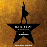 Download or print Lin-Manuel Miranda The Schuyler Sisters (from Hamilton) Sheet Music Printable PDF 5-page score for Broadway / arranged Big Note Piano SKU: 485291.