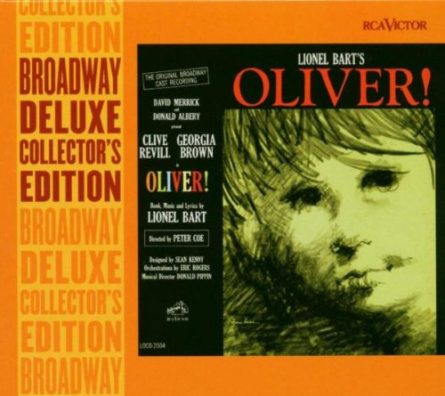 Lionel Bart, Oliver!, Piano, Vocal & Guitar (Right-Hand Melody)