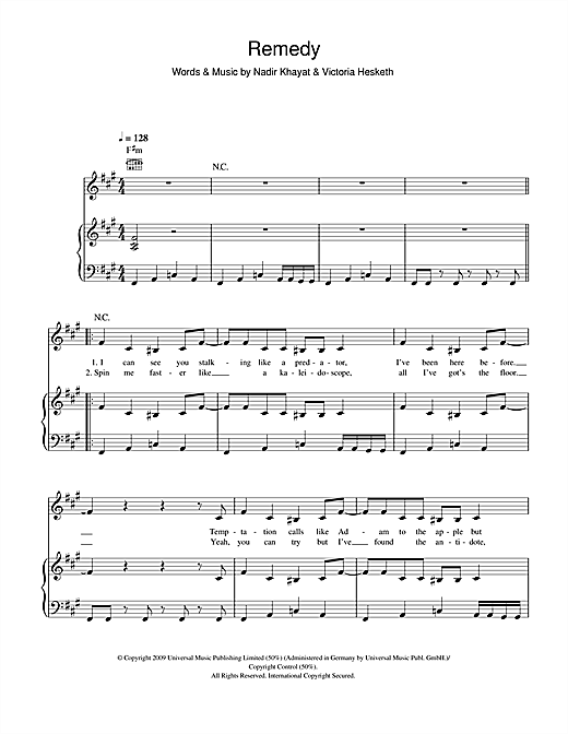 Little Boots Remedy Sheet Music Notes Chords Download Printable 5 Finger Piano Sku 103200