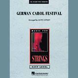 Download Lloyd Conley 'German Carol Festival - Bass' Printable PDF 2-page score for Christmas / arranged Orchestra SKU: 286379.