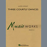Download Lloyd Conley 'Three Courtly Dances - Percussion 2' Printable PDF 2-page score for Concert / arranged Concert Band SKU: 292808.