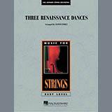 Download Lloyd Conley 'Three Renaissance Dances - Violin 1' Printable PDF 2-page score for Renaissance / arranged Orchestra SKU: 287349.