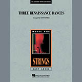 Download Lloyd Conley 'Three Renaissance Dances - Violin 2' Printable PDF 2-page score for Renaissance / arranged Orchestra SKU: 287350.