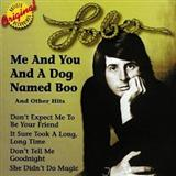 Download Lobo 'Me And You And A Dog Named Boo' Printable PDF 3-page score for Country / arranged Piano, Vocal & Guitar (Right-Hand Melody) SKU: 16407.