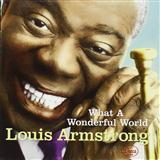 Download or print Louis Armstrong What A Wonderful World Sheet Music Printable PDF 4-page score for Pop / arranged Big Note Piano SKU: 25791.