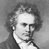 Download Ludwig van Beethoven 'German Dance In E-Flat Major, WoO 13, No. 9' Printable PDF 1-page score for Classical / arranged Piano Solo SKU: 443260.