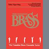 Download or print Luther Henderson Tuba Tiger Rag - Trombone (B.C.) Sheet Music Printable PDF 8-page score for Jazz / arranged Brass Ensemble SKU: 366533.