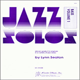 Download Lynn Seaton 'Jazz Solos For Bass, Volume 1' Printable PDF 18-page score for Jazz / arranged Percussion Solo SKU: 381717.