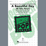 Download or print Mac Huff A Beautiful Day Sheet Music Printable PDF 10-page score for Pop / arranged 2-Part Choir SKU: 177648.